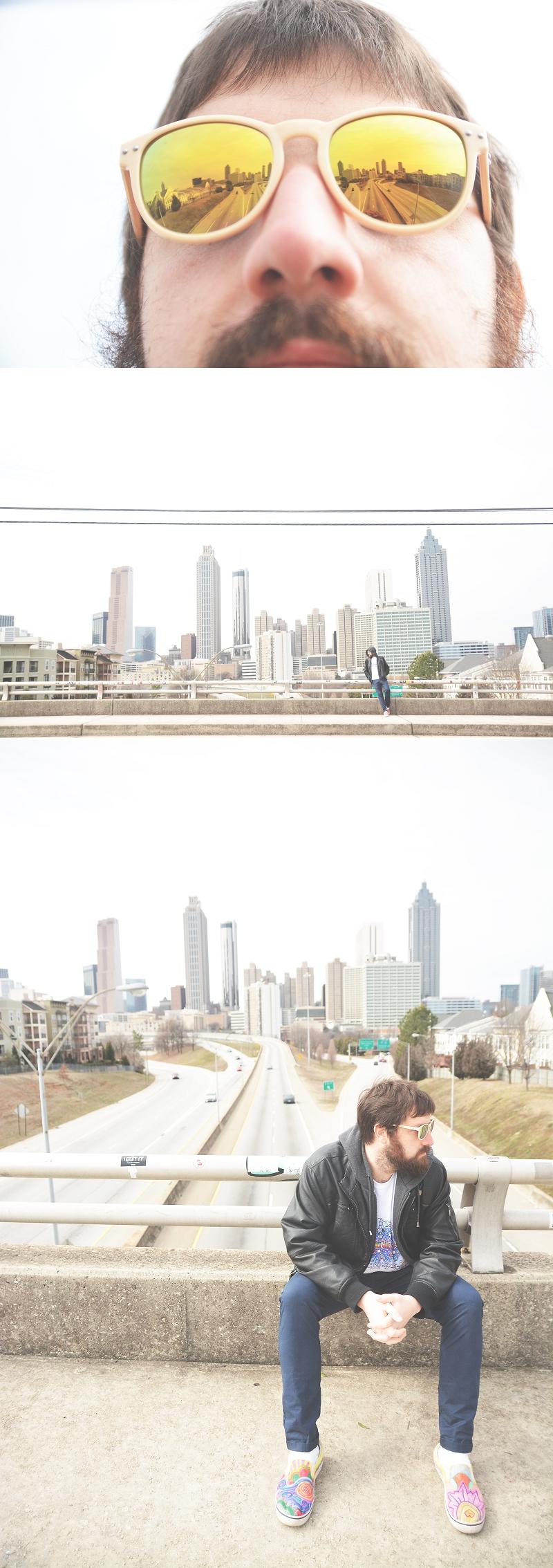 Atlanta Cityscape Skyline